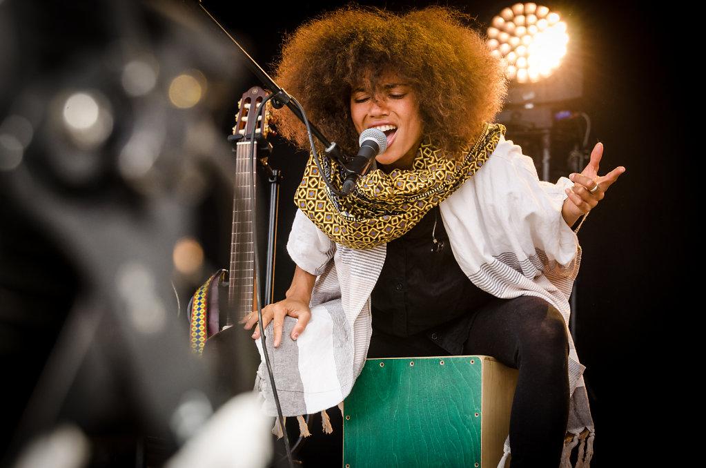 Day 5: Nneka (Nigeria/Germany) on stage