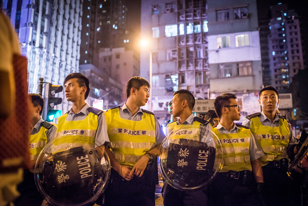 Police officers on duty