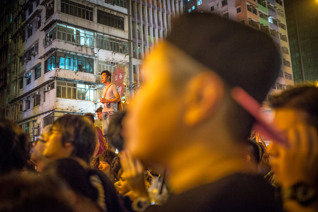 The crowd at Occupy Central