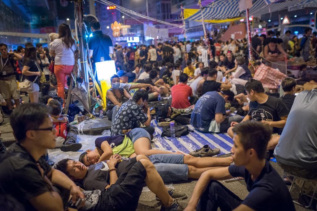 Mong Kok occupied